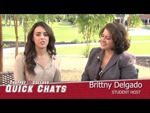 Chaffey College Quick Chats, Jeanne Batista