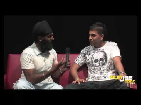 Rana Sahotas interview (Part 1)  with Tony Bains of Punjab2000...