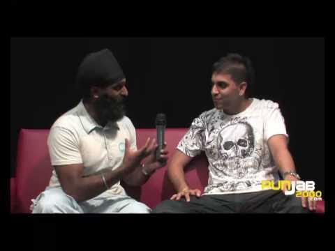 Rana Sahotas interview (Part 1)  with Tony Bains of Punjab2000...