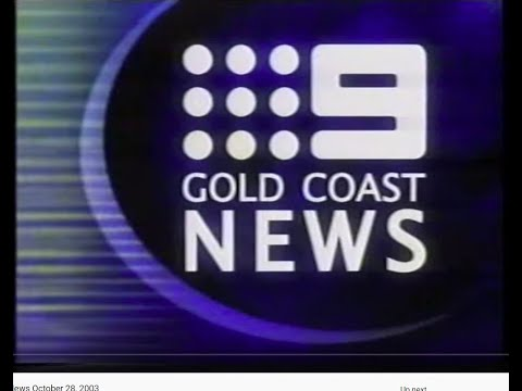QTQ9 Nine Gold Coast News October 28, 2003