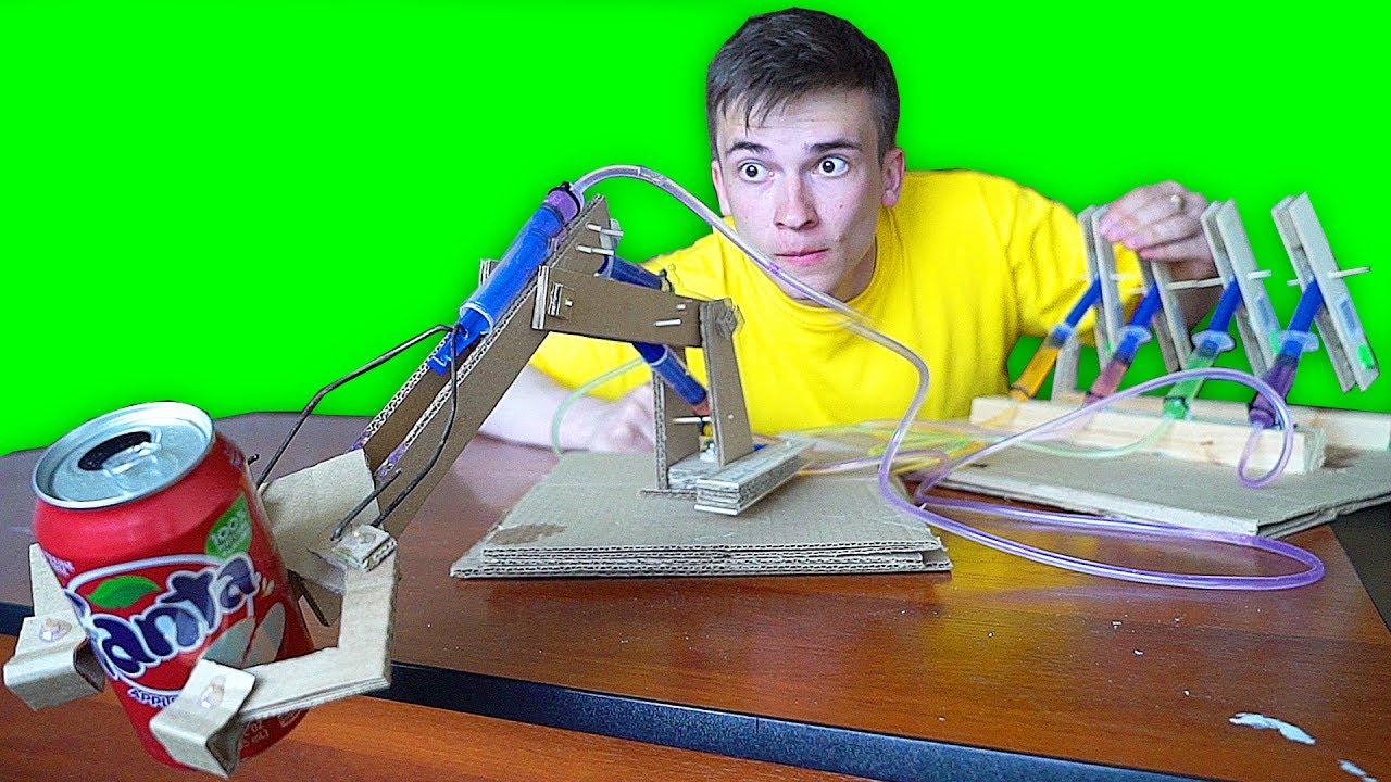 20Механическая рука своими руками из бумаги