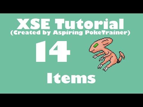 XSE Adv Script Tutorial 14: Items