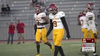 CIF-SS Football 2018: Arcadia @ Burroughs