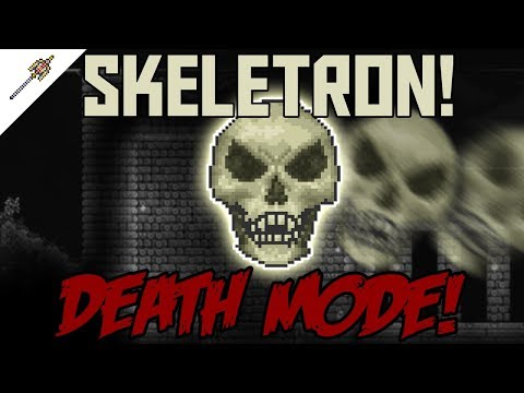 How to beat Skeletron in Death Mode! ||Terraria Calamity Mod Boss Guide||
