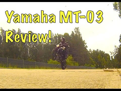 Review of the 2013 Yamaha MT-03