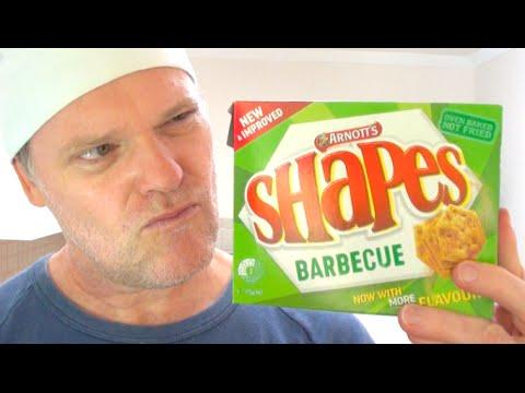 NEW IMPROVED ARNOTT'S SHAPES REVIEW - Greg's Kitchen