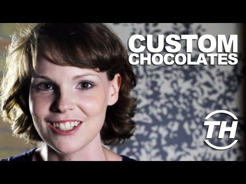 Custom Chocolates - Trend Hunter Susan Keefe Uncovers an Idea That Encourages Playing with Food
