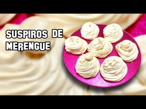 Suspiros de Merengue | Recetas de Cocina