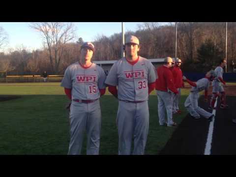 WPI Baseball Post-Game Interview - Joe Fainer and Sean Fallon