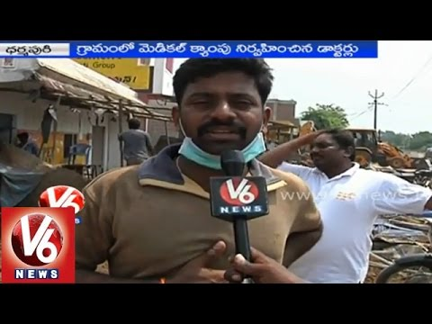District Health department responded with telecast in V6 News - Dharmapuri