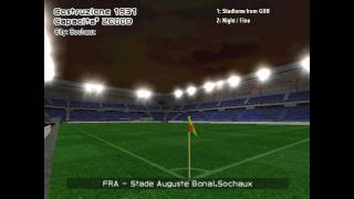 Ligue 1 Orange stadiums in PES 6 (HD 720p)
