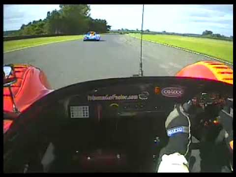 Radical Enduro SR3 (No.99) - onboard from 2nd race at Croft 2007