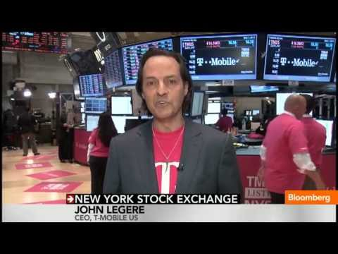 T-Mobile Ready for Competition: CEO Legere