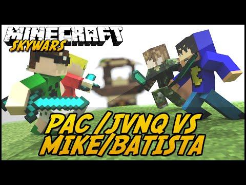 Minecraft: Pactw jvnq Vs Mike batista (skywars) video