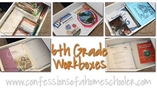 6th Grade Homeschool Workload