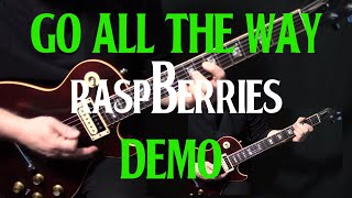 "how to play ""Go All the Way"" on guitar by The Raspberries 