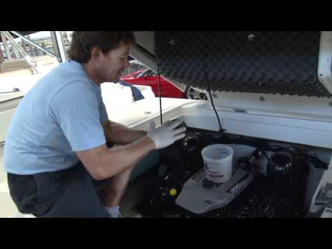 How To: Change Mercruiser Marine Engine Oil by http://MarinePartsPlus.com