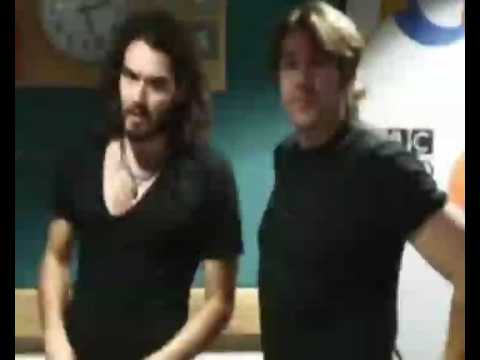 Russell Brand and Jonathan Ross Abuse Andrew Sachs via Phone 1