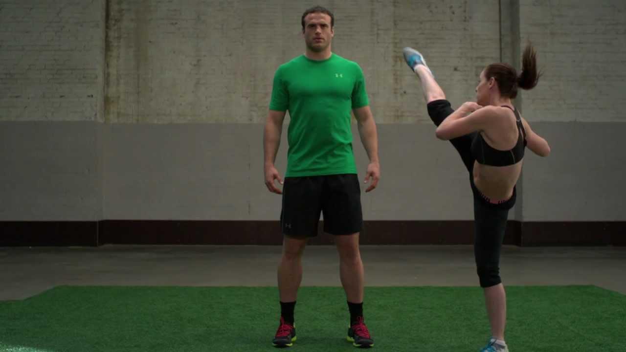 Fearless Warrior (Full Story) - Jamie Roberts dodges high kicks from Chloe Bruce - YouTube