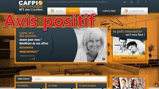 courtier pret immobilier Avis utilisateur sur le Courtier Cafpi en prêt immobilier