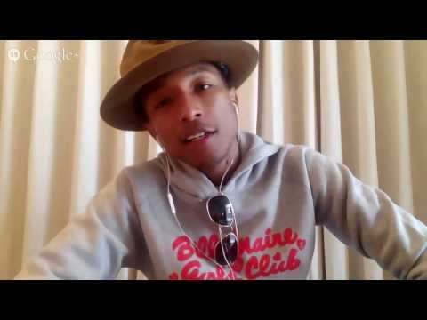 "Gold Derby Q&A: Pharrell Williams on his Oscar nominated song ""Happy"""