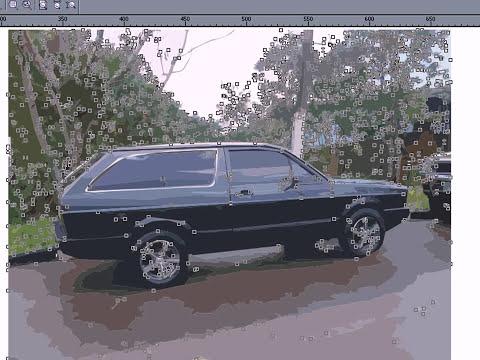Como transformar foto em desenho colorido CorelDRAW X3