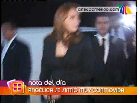 Angélica Rivera y Peña Nieto asisiteron a un funeral Video