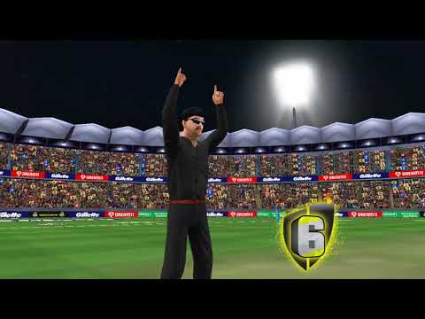 A man who hit 6 sixes in 6 balls in the last over of video