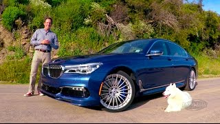 2017 BMW Alpina B7 FIRST DRIVE REVIEW – A less perfect & brilliantly bonkers tuner car? (2 of 2)