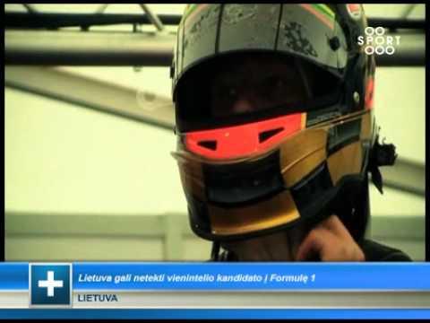 SPORT1: Lenktynininkas K.Vasiliauskas savo planus stengsis įgyvendinti 2012 metais