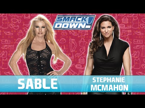 Sable VS Stephanie McMahon | WWE Smackdown! Here Comes The Pain - 1080p 60fps thumbnail