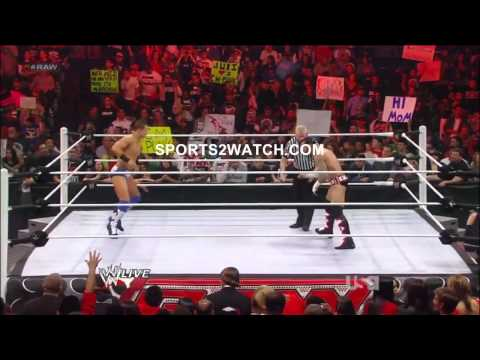 WWE Raw 2/13/12 Part 6 (720p HD)