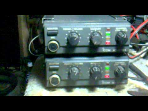 ICOM IC-V101 VHF Back to Back Repeater System.mp4