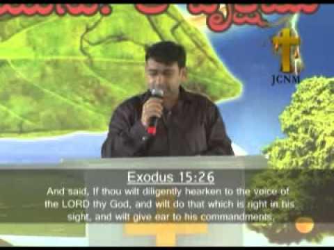 JCNM-August 15 2010-Gods Mega Plan Part 1 by Bro K Shyam Kishore...