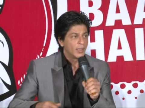 Shahrukh Khan & Rahul Dravid crack jokes on each other. SRK dances