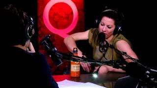 Amanda Palmer in Studio Q