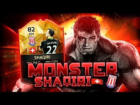 SIF XHERDAN SHAQIRI THE ALPINE MESSI! FIFA 16 ULTIMATE TEAM