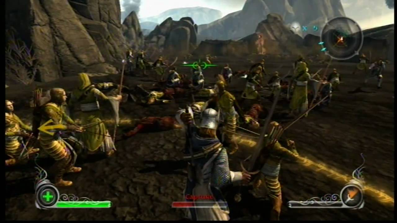 Lord Of The Rings Xbox Gameplay