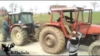 Tractor pulling IMT- 109 HP vs SAME 90 HP