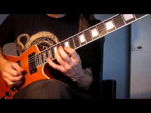 Megadeth Skin O´ My Teeth solo cover