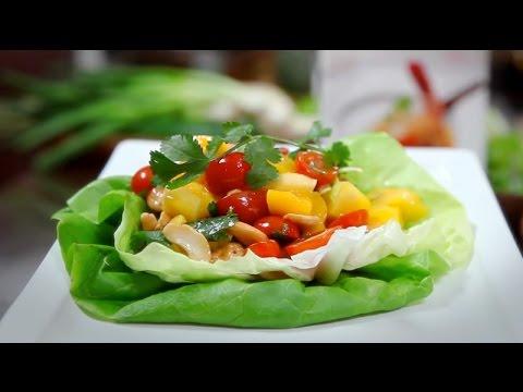 Malaysia Kitchen - Mango Salad - Cooking Video