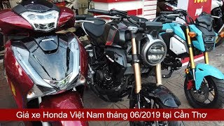 Prices of all Honda Vietnam cars in June 2019   Mekong today