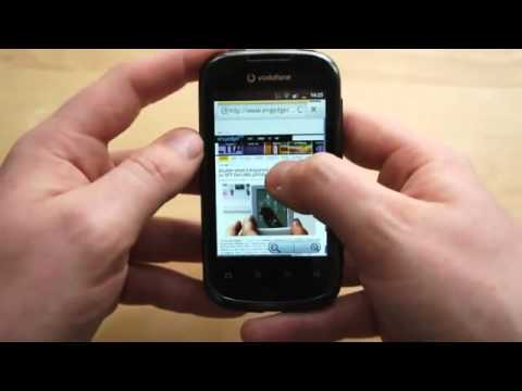 Vodafone Smart II [Hands-on][Android Gingerbread][HD]