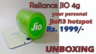 Reliance Jio Free 4g internet | Speed Test | | wifi Hotspot FULL SPECIFICATION | jiofi3
