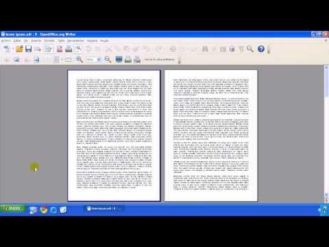 OpenOffice - Writer - Opciones de impresión