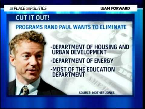 Rand Paul's Crazy Budget Cut Plan?