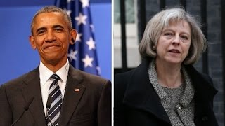 US President Obama to meet UK PM May in China