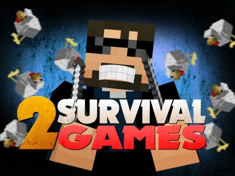 Minecraft Hunger Games 2 - BIGGEST CHICKENS EVER!!!