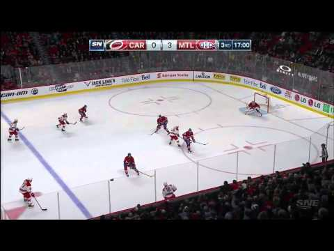 Carolina Hurricanes vs. Montreal Canadiens 19.03.2015