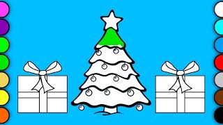 Christmas Tree | Learn colors for kids  | toddlers | It's Kids Channel